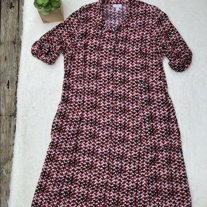J.Jill. Button down dress.